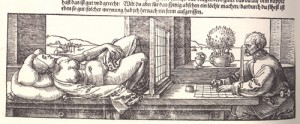 Durer'in perspektif makinası