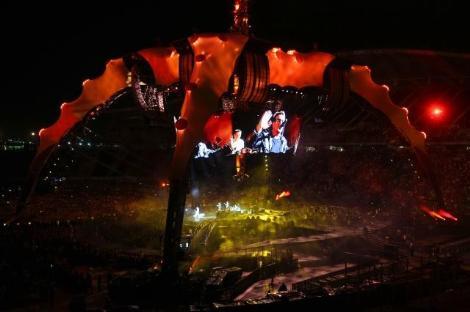 U2 360 İstanbul Konseri - Atatürk Olimpiyat Stadı - Fotoğraf: Hurriyet.com.tr