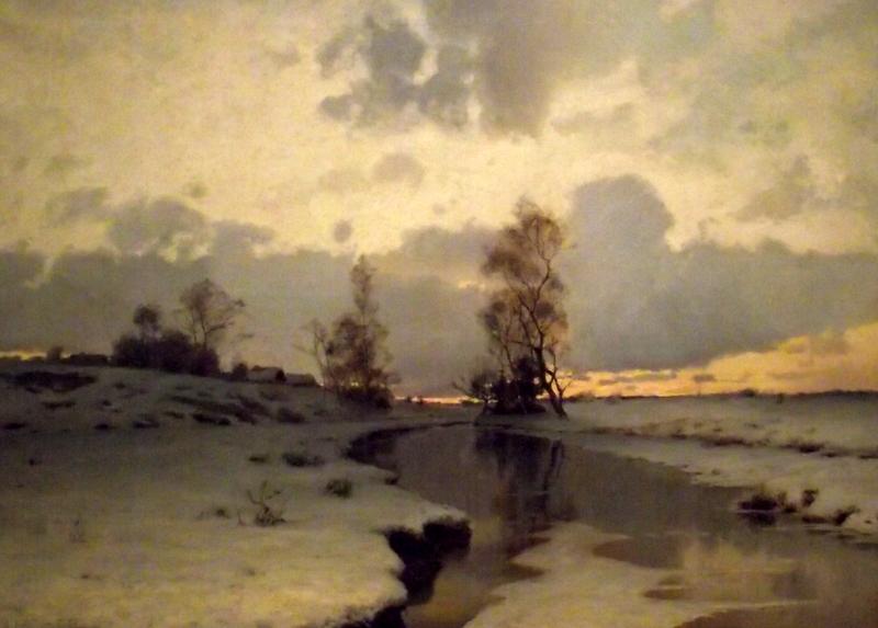 Ivan Shishkin- Çarlık Rusyası Resim Sergisi - Pera Müzesi