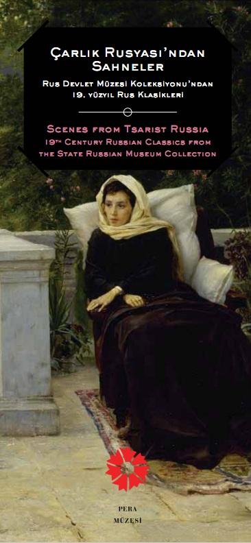 Çarlık Rusyası Resim Sergisi - Pera Müzesi - Afiş