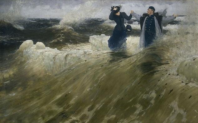 İlya Replin - İşte Enginlik - Çarlık Rusyası Resim Sergisi - Pera Müzesi