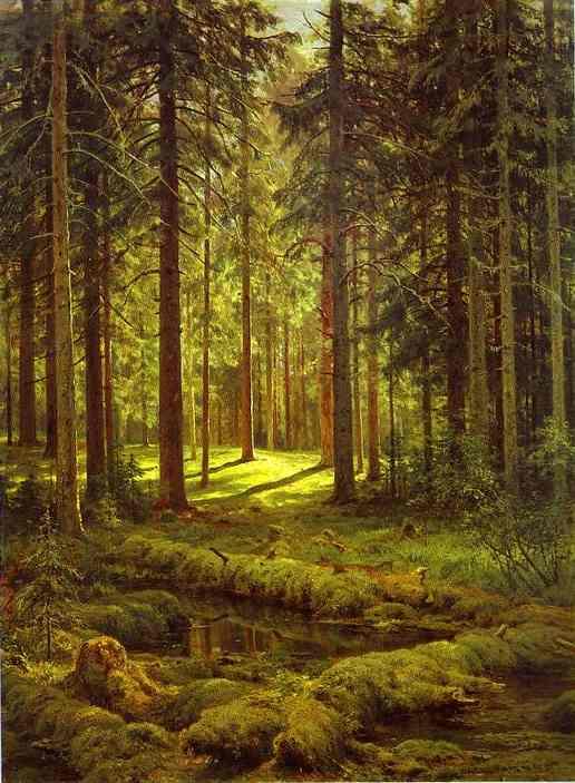Ivan Shishkin - Güneşli Gün - Çarlık Rusyası Resim Sergisi - Pera Müzesi