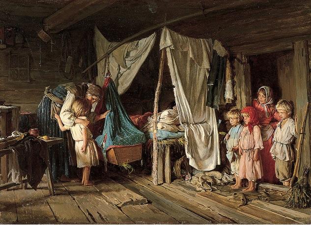Karl Lemoh - Yeni Arkadaş - Çarlık Rusyası Resim Sergisi - Pera Müzesi