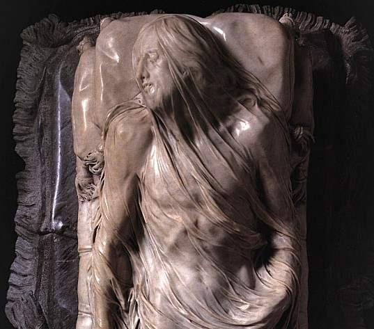 Giuseppe Sanmartino - Örtülü İsa, 1753, Napoli, San Severo Cappellası - Umberto Eco - Güzelliğin Tarihi