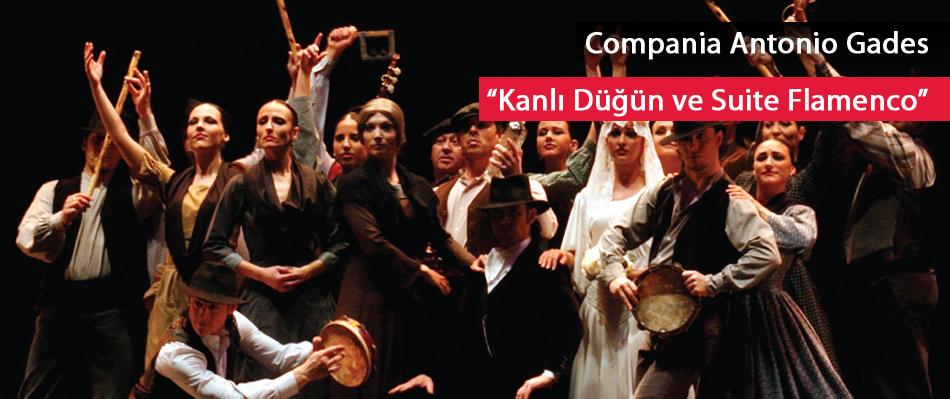 Compania Antonio Gades: Kanlı Düğün ve Suite Flamenco  - Federico Garcia Lorca
