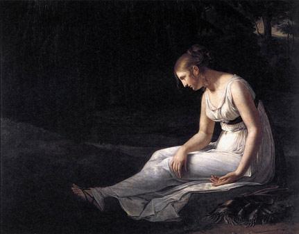 Constance  MarieCharpentier - Melancolhy - Melankoli -1801