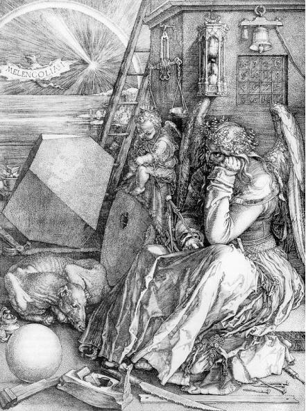 Albercht Dürer- Melencolia I