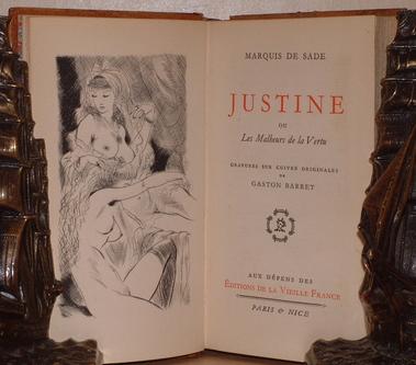 marquies de sade- justine kitabı