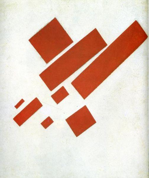 Kasimir Malevich - Süprematism ( Oto Portre) - 1915