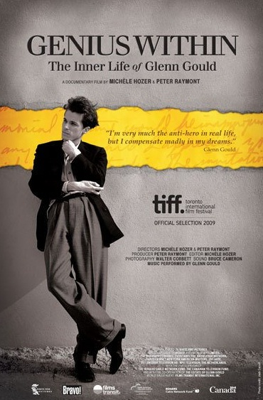 Glenn Gloud - Genius Within: The Inner Life of Glenn Gould(2009) posteri