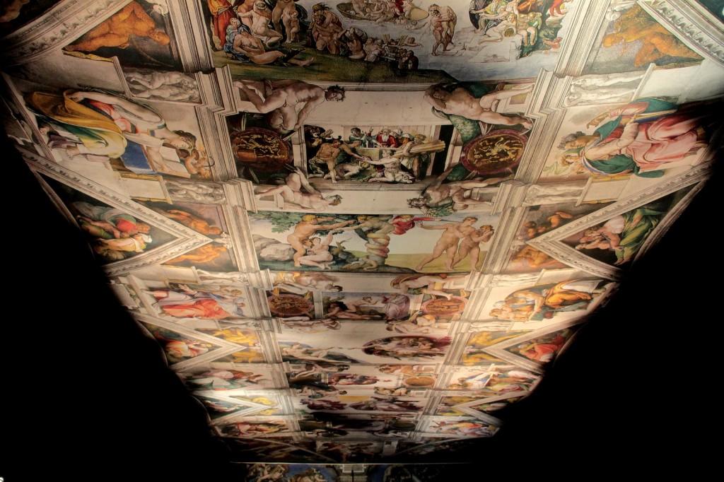 """The Great Masters"" Sergisi: Leonardo, Michelangelo ve Raffaello, Fotoğraf: Reha Başoğul"