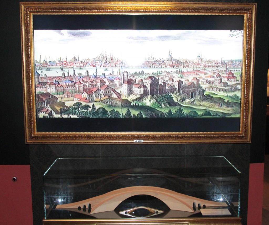 Haliç Köprüsü Projesi: The Great Masters Sergisi: Leonardo, Michelangelo ve Raffaello Fotoğraf: Reha Başoğul