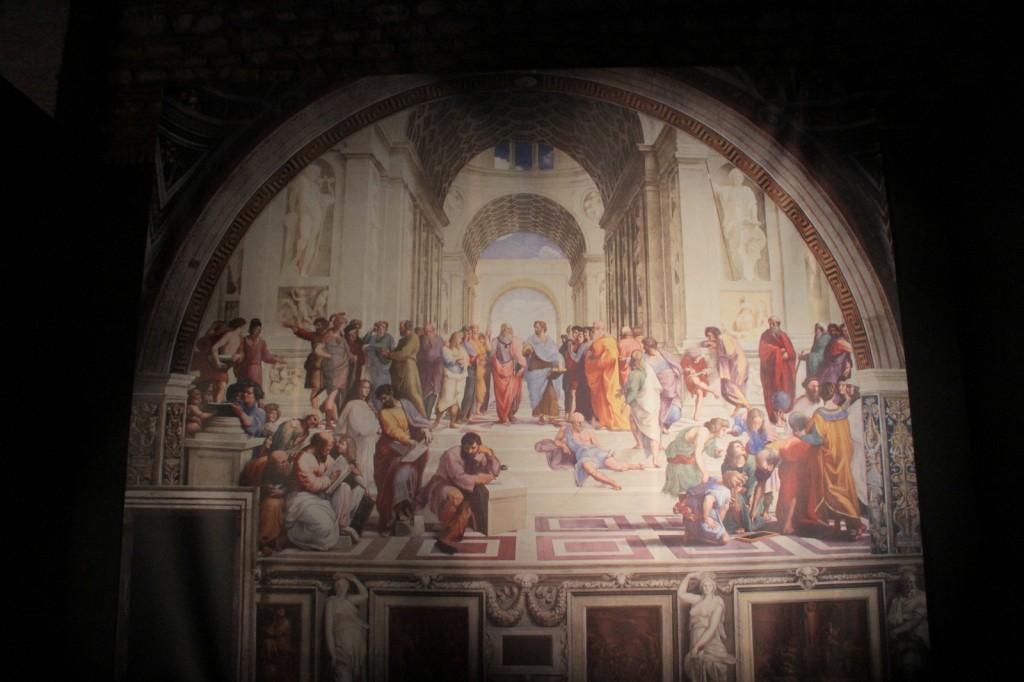 The Great Masters Sergisi: Leonardo, Michelangelo ve Raffaello Fotoğraf: Reha Başoğul