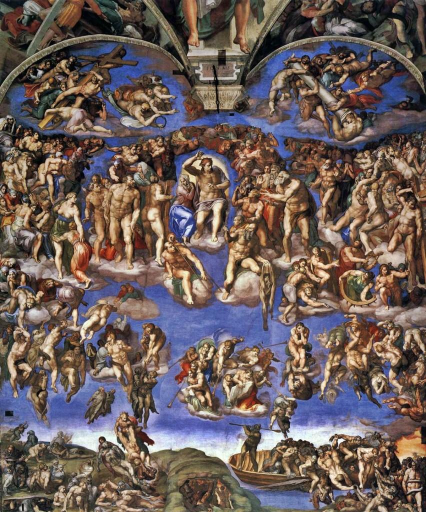 Kıyamet Günü (Last Judgmenet) - Michelangelo
