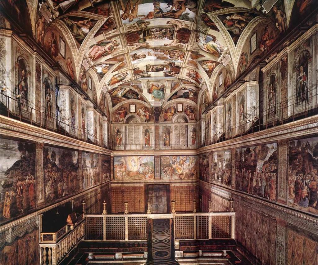 Sistine Şapeli tavanı