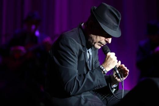 Leonard Cohen  İstanbul Konseri 19 Eylül 2012 Fotoğraf: Hürriyet Kültür Sanat