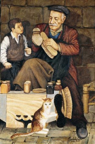 Kaybolan Meslekler ve Son Ustalar : Ayakkabı Boyacısı- 2002-