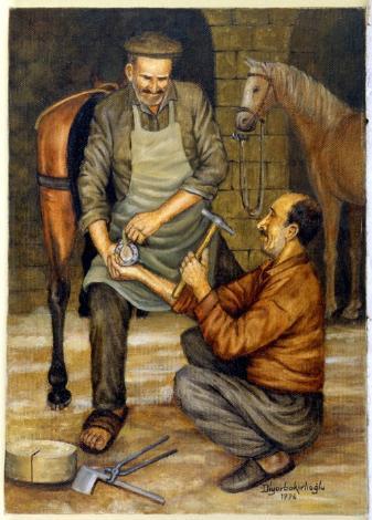 Kaybolan Meslekler ve Son Ustalar: Nalbant Celal 1996-
