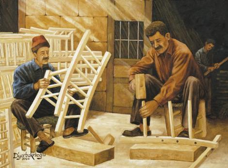 Kaybolan Meslekler ve Son Ustalar: Sandalyeciler 2006