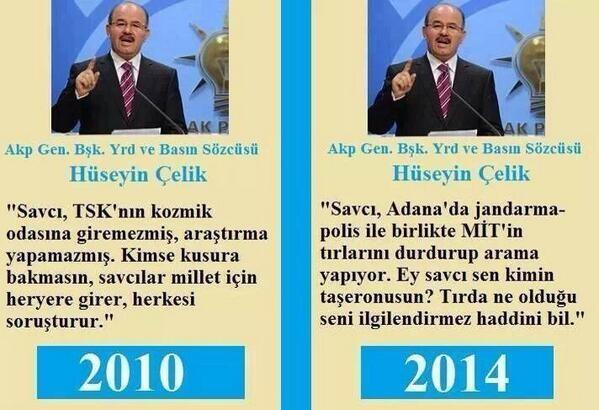 Sosyal Medyada ve ana akım medyada AKP yöneticilerinin demeçleri, geçmişteki verileri dijital olmasından faydalanarak tarandı ve tam aksini söylediği görüşleri hemen tespit edilerek paylaşıldı.