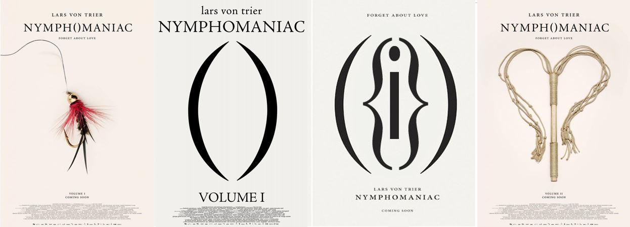 nymphmaniac posters - lars von trier - analiz - eleştiri