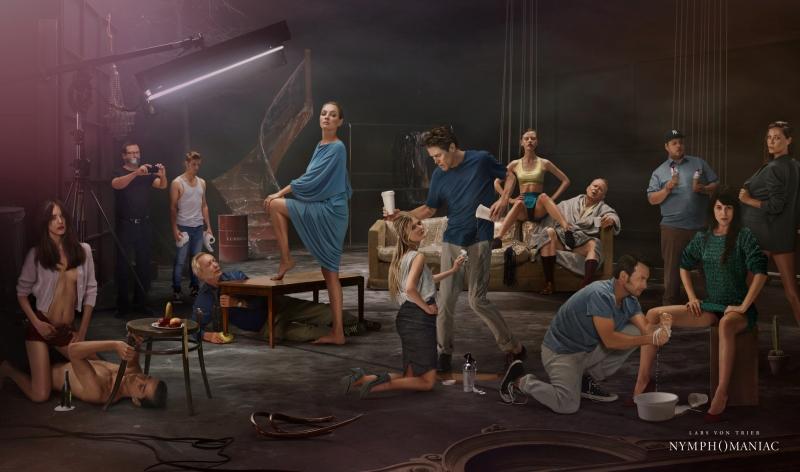 Nympomanyak - Lars Von Trier - Poster